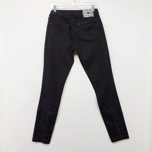 GUESS | lace up ankle skinny jean's